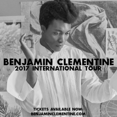 Benjamin Clementine en concert au Grand Rex de Paris en novembre 2017