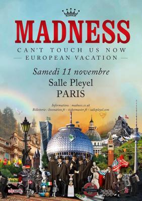 Madness en concert à La Salle Pleyel de Paris en novembre 2017