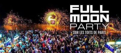 Full Moon Party sur les toits de Paris