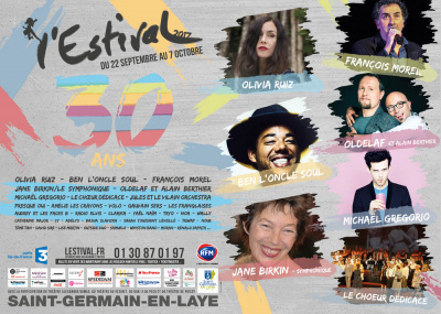 L'Estival 2017 de Saint-Germain-en-Laye : dates, programmation et réservations