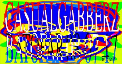 Casual Gabberz Allstarz au Batofar