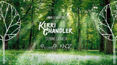 Kaoz Theory à La Clairière avec Kerri Chandler & Stéphane Ghenacia