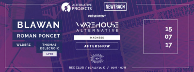 Aftershow au Rex Club : Warehouse Alternative Madness
