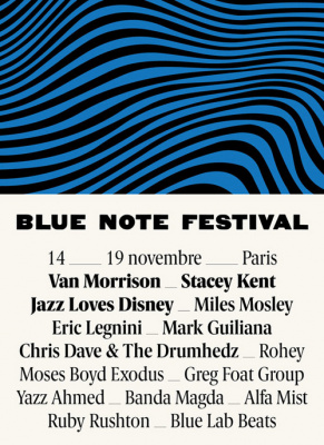 Blue Note Festival 2017 à Paris : dates, programmation et réservations