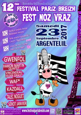 Festival Paris Breizh 2017 à Argenteuil