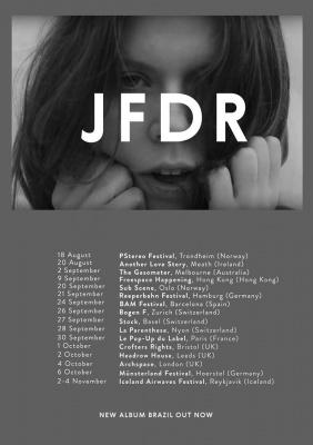 JFDR en concert au Pop Up du Label en septembre 2017