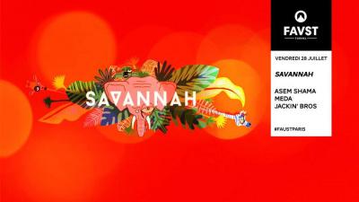 Faust x Savannah avec Asem Shama, Meda, Jackin' Bros
