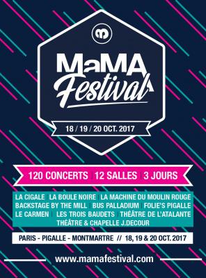 MAMA Festival 2017 à Paris : Dani, Bertrand Burgalat, Mai Lan... rejoignent la programmation