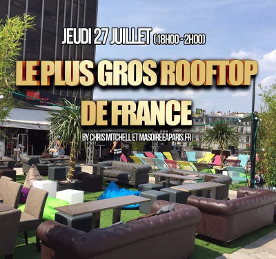 Le Plus Gros Rooftop de France au Tout Le Monde en Parle