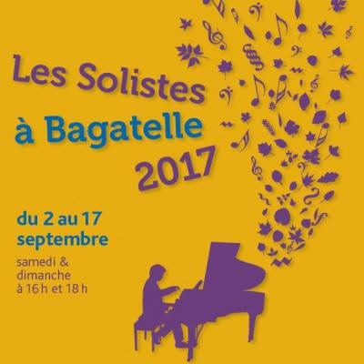 Les Solistes à Bagatelle 2017 : dates, programmation et réservations