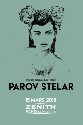 Parov Stelar en concert au Zénith de Paris en 2018