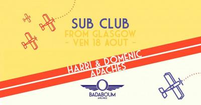 Badaboum Airlines 2017 : Glasgow's Sub Club