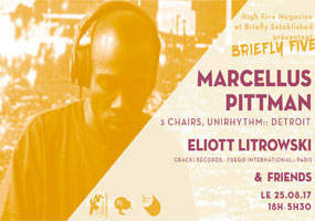 Briefly Five à Petit Bain avec Marcellus Pittman