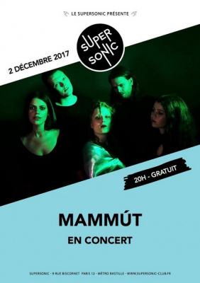 Mammút en concert au Supersonic