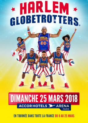 Les Harlem Globetrotters de retour à l'Arena Bercy de Paris en 2018