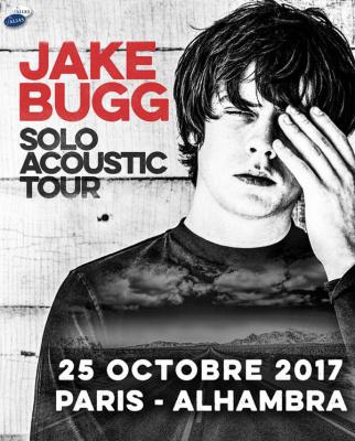 Jake Bugg en concert solo acoustique à l'Alhambra de Paris en octobre 2017