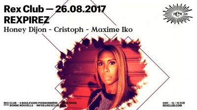Rexpirez au Rex Club avec Honey Dijon, Cristoph et Maxime Iko