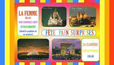 Pain Surprises Party à La Clairière avec La Femme en DJ Set