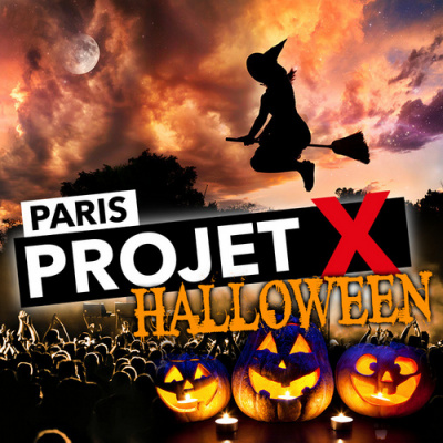 Project X Halloween party 2017 at California Avenue in Paris ...