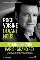 Roch Voisine en concert au Grand Rex de Paris en janvier 2018