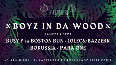 Boyz In Da Wood avec Ed Banger à La Clairière