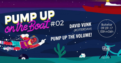 Pump Up The Volume on the Boat au Batofar avec David Vunk