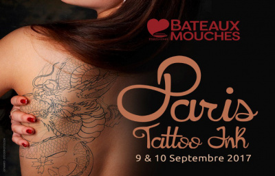 Paris tattoo ink 2017 salon de tatouage bord de la compagnie des bateaux mouches - Salon paris septembre 2017 ...