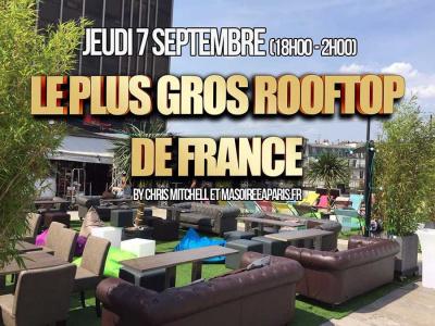 Le Plus Gros Rooftop de France de retour au TLMP