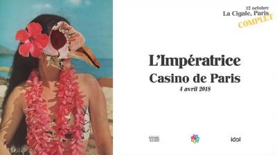 L'Impératrice en concert au Casino de Paris en 2018