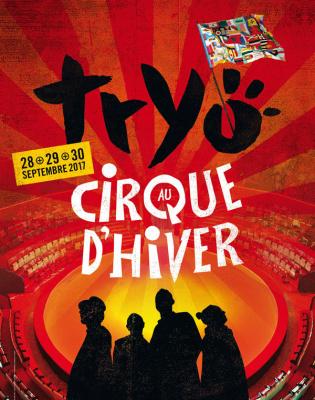Tryo en concert au Cirque d'Hiver à Paris