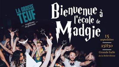 La Grosse Teuf à La Bellevilloise : bienvenue à l'école de Madgie
