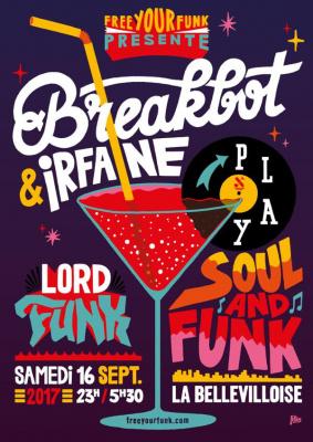 Free Your Funk à La Bellevilloise avec Breakbot