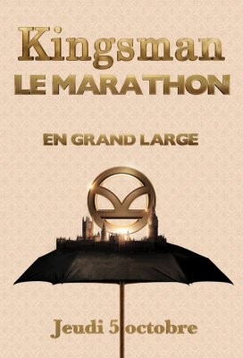 Marathon Kingsman au Grand Rex de Paris