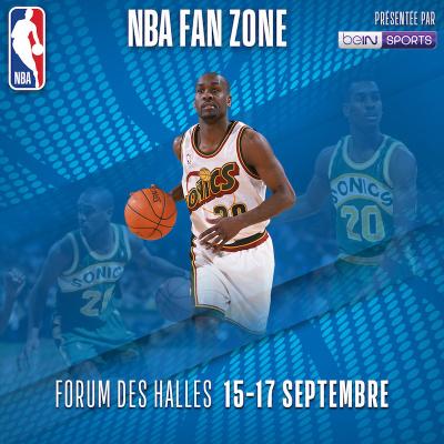 NBA Fan Zone au Forum des Halles