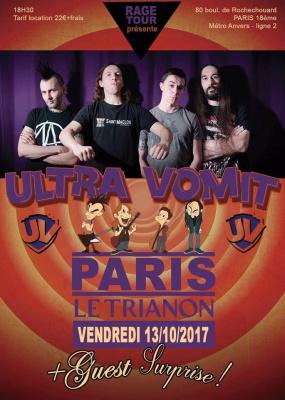 Ultra Vomit en concert au Trianon de Paris