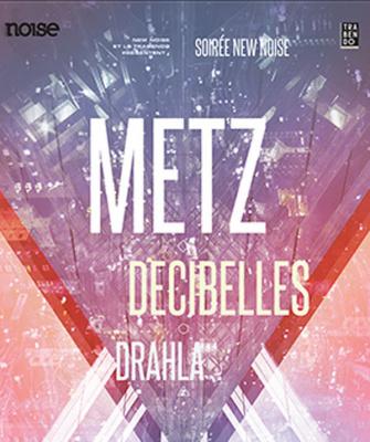 Metz en concert au Trabendo de Paris