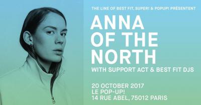 Anna of The North en concert au Pop-Up du Label