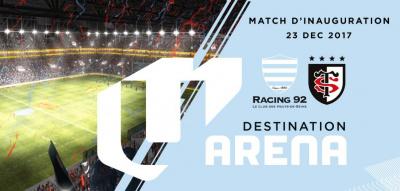 "Inauguration ""rugby"" de la U Arena : Racing 92 vs Stade Toulousain"