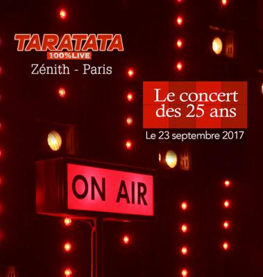 Taratata fête ses 25 ans au Zénith de Paris le 23 septembre 2017