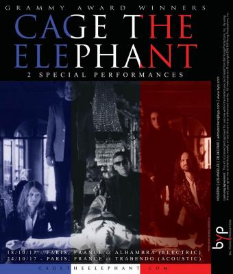 Cage the elephant en concert paris en octobre 2017 - Expo paris octobre 2017 ...