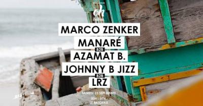 Beat à l'air présente Marco Zenker au Batofar