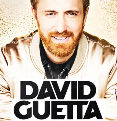 David Guetta à l'Arena Bercy de Paris en janvier 2018