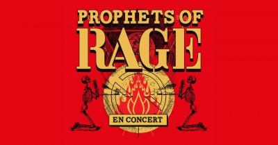 Prophets of Rage en concert au Zénith de Paris en novembre 2017