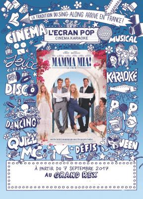L'Ecran Pop : Mamma Mia en karaoké géant, nouvelles dates au Grand Rex de Paris