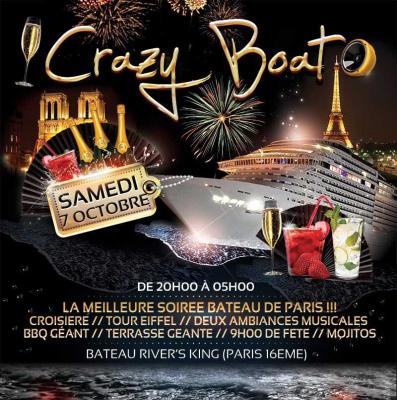 Crazy Boat Party, spéciale rencontres, au River's King