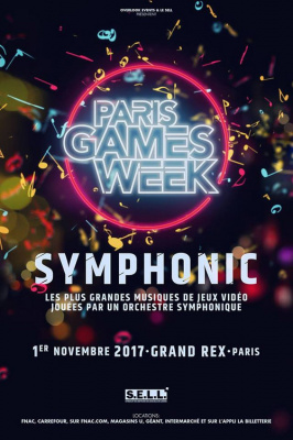 Paris Games Week Symphonic au Grand Rex de Paris