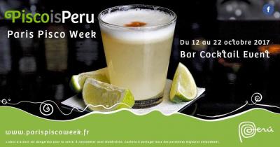 Première édition de la Paris Pisco Week