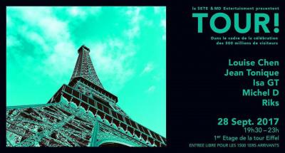 Le premier étage de la Tour Eiffel va devenir un dancefloor
