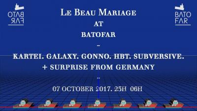 Le Beau Mariage au Batofar