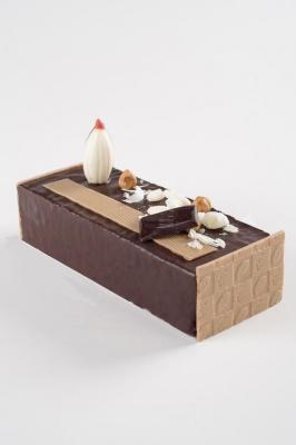 Bûche et chocolats de Noël 2017 by Yves Thuriès